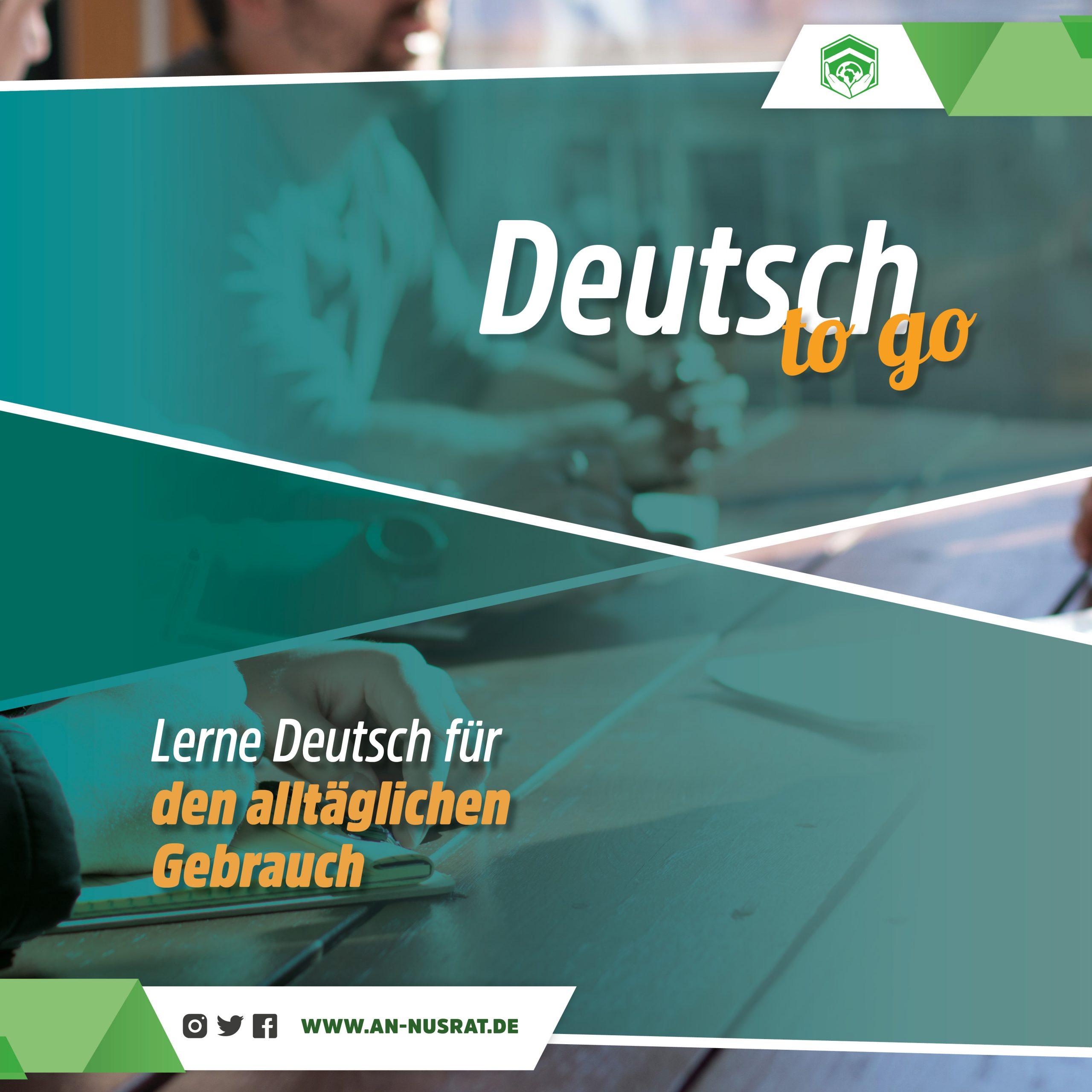 Deutsch2go - lerne Deutsch für den Alltäglichen gebrauch