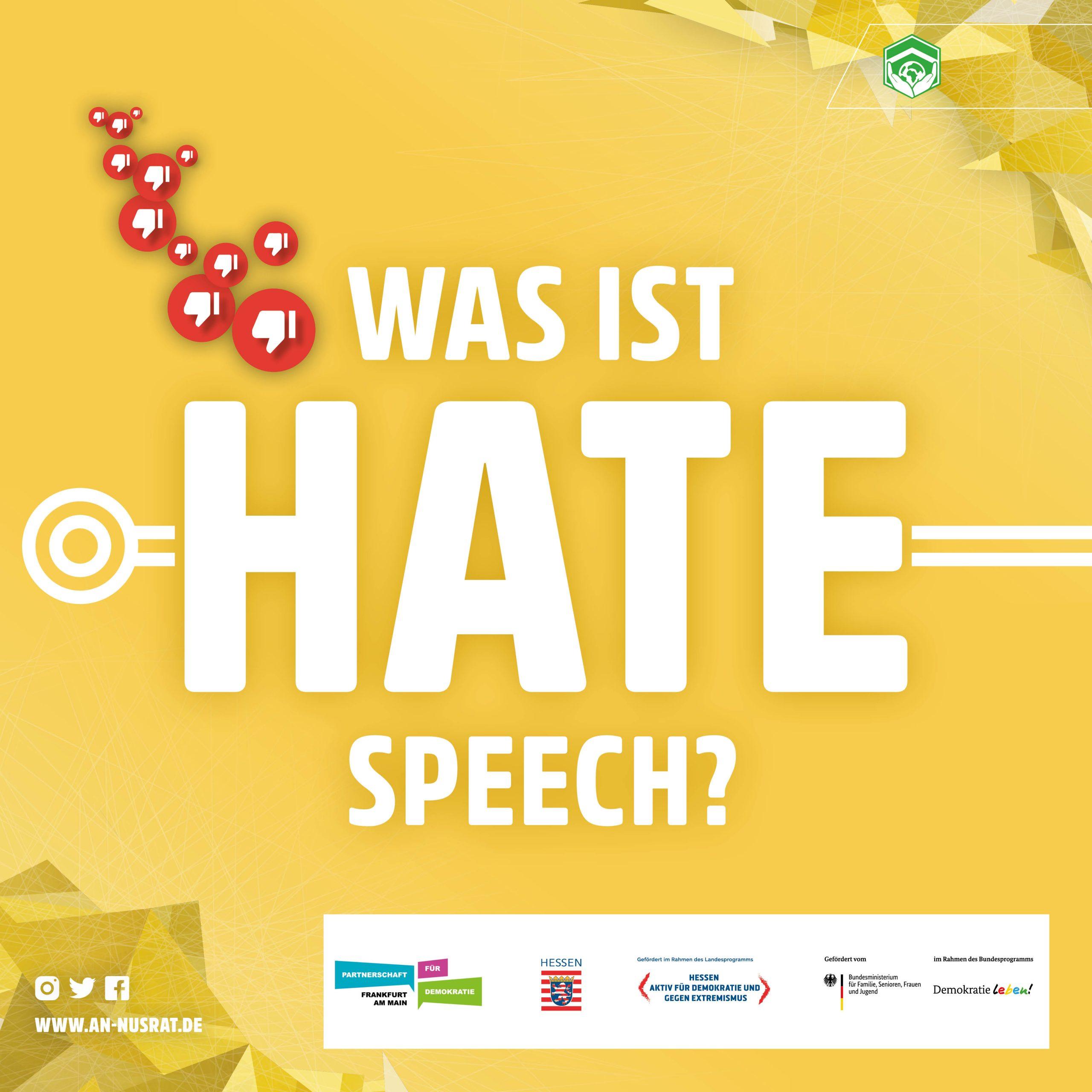 Gegen Hatespeech im Netz – #WirSindDieMehrheit!